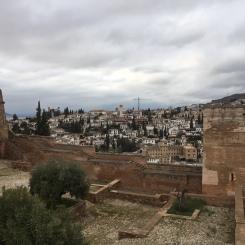 Mirador de San Nicolás desde la Alhambra